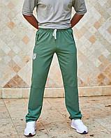 Штани чоловічі спортивні з кишенями фісташка