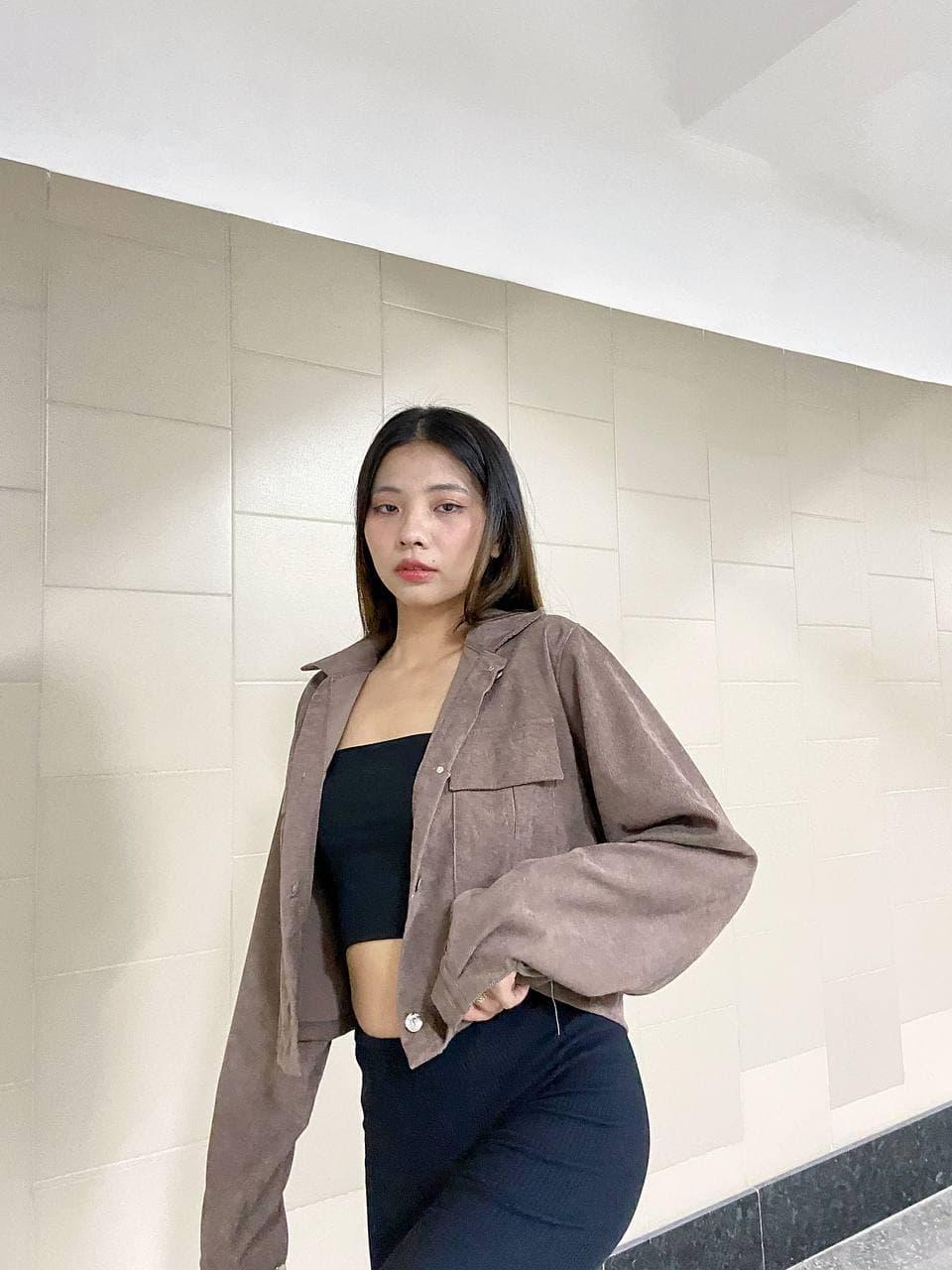 """Трендовий модний жіночий піджак з мікро вельвету """"Georgina"""". Стильний жакет з мікро вельвету на осінь"""