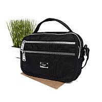 Текстильна сумка жіноча чорна Арт.V9010 (Китай)