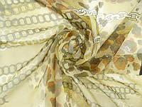 Очаровательный женский шейный платок крепдешин размером 50*50 см VENERA (ВЕНЕРА) C270204