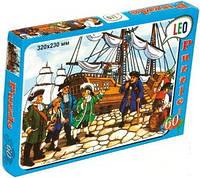 Пазлы детские картонные 60 эл. Пираты