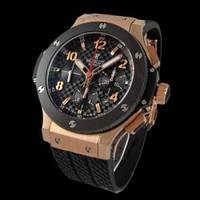 Стильные мужские часы Hublot Big Bang Gold Ceramic, часы механические, мужские наручные часы, элитные часы