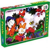 Пазлы детские картонные 60 эл. Утиные истории