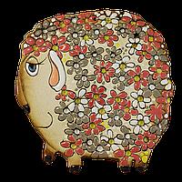 Сувенир Барашка в цветочек