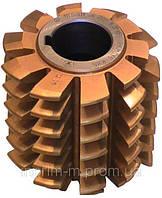 Фреза червячная для шлицевых валов - 8х32х38 тип 1 3°35´ 3693 Р9К10 (80х27х63) 2520-0262 ГОСТ 8027