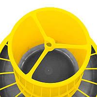 Кормушка бункерная Compacta на 22 л с ножками, 3 положения регулировки River Systems (Италия), фото 1
