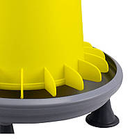 Кормушка бункерная Arcus для домашней птицы 9 л с ножками и металлическим стержнем регулировки River Systems, фото 1