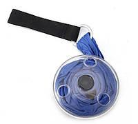 Складна компактна сумка-шоппер синя Sshopping bag to roll up SKL11-322287