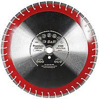 Диск алмазный сегментный S&R Premium Segment 400х25,4 мм, фото 1