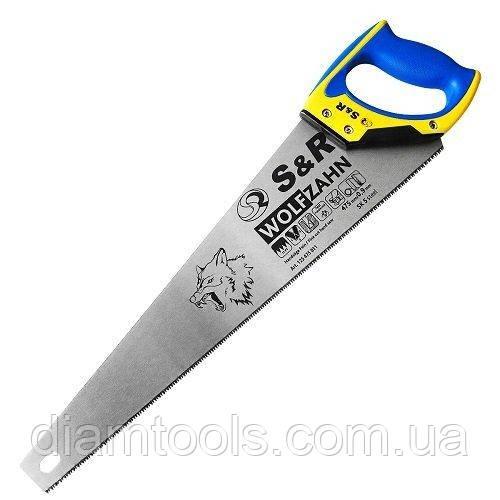 Ножівка по дереву S&R 475 мм, 11 зуб./дюйм