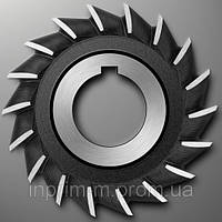 Фреза дисковая трехсторонняя - 100х16х32 z20 пр/з Р6М5 2240-0214
