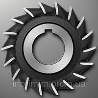 Фреза дисковая трехсторонняя - 120х22х32 z18 р/з Р6М5