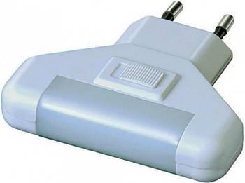 LED нічник , з кнопкою, колір білий (58313)
