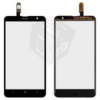 Touchscreen (сенсорный экран) для Nokia Lumia 1320, оригинал (черный)