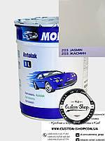 Автоэмаль однокомпонентная MOBIHEL алкидная  (1К) цвет 203-Жасмин, 1л