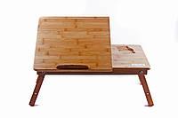 Бамбуковый столик для ноутбука NT27