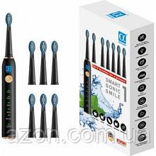 Електрична зубна щітка AHealth SMART SONIC SMILE 1 black (AHsss1b)
