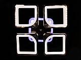 Светодиодная люстра с диммером и LED подсветкой, 80W, фото 3