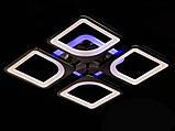 Світлодіодна люстра з діммером і LED підсвічуванням, 80W, фото 6