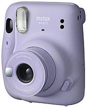Камера моментальной печати FUJIFILM Instax Mini 11  Lilac Purple + Monochrome 10 шт. + Rainbow 10 шт