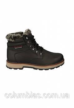 Зимние польские кожаные ботинки есоsportwear. Чёрные 40 - 45