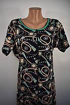 Халат трикотажный женский Драгоценные камни, фото 2