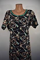 Халат трикотажный женский Драгоценные камни, фото 3