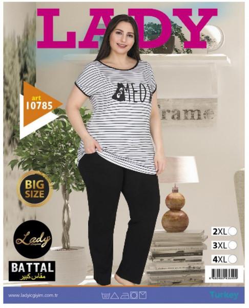 LADY LINGERIE Домашній комплект 10785 (3XL)