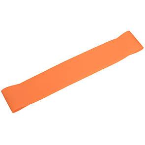 Стрічка-еспандер для фітнесу 001-OR 600x50x1 помаранчевий