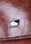 Женский темно-коричневый рюкзак код 7-9200, фото 4