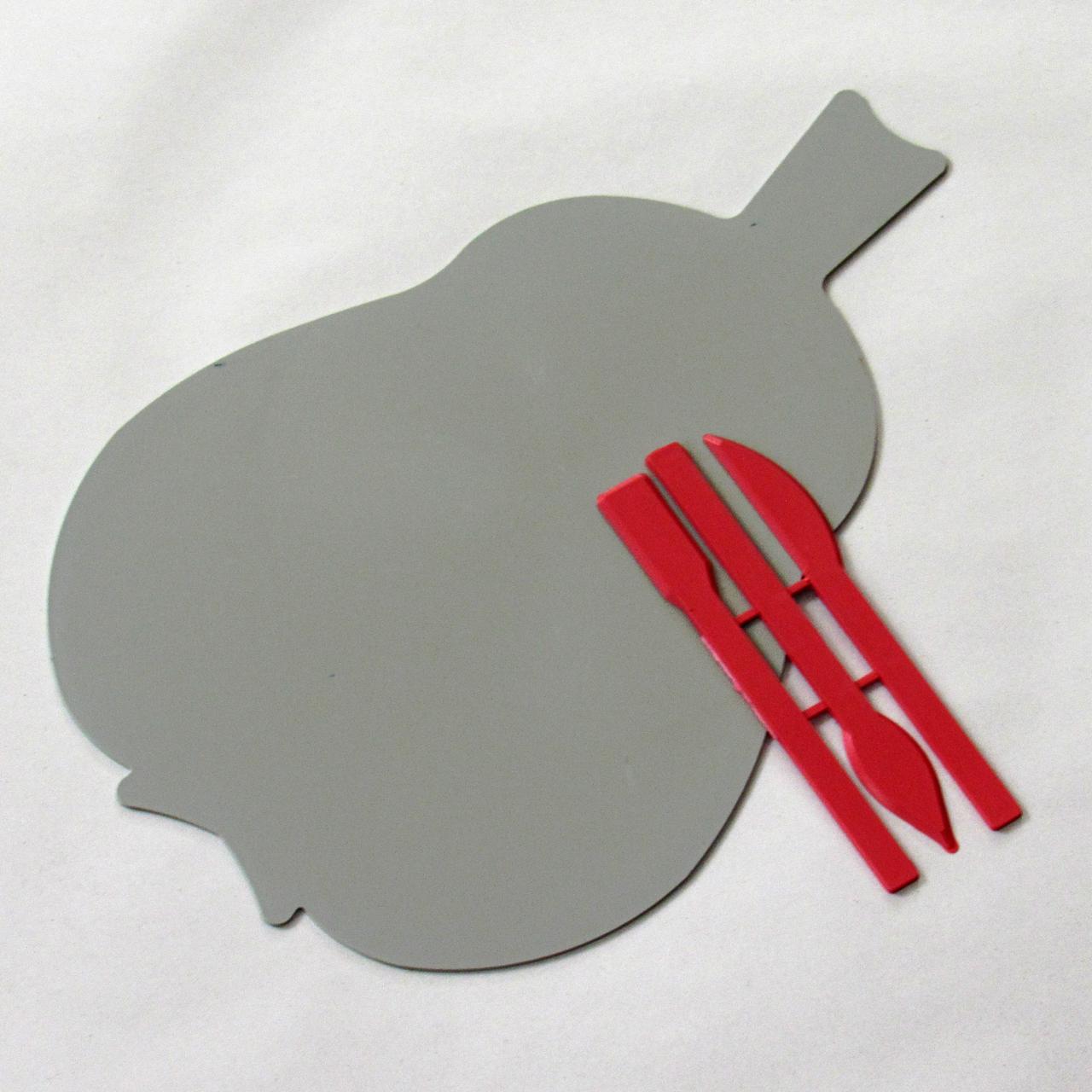 Дощечка для пластиліну зі стеками у вигляді груші 14602