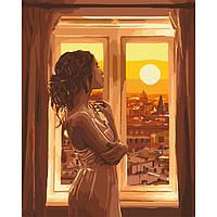 "Картина за номерами.""Золотий світанок"" KHO4648, 40х50 см"