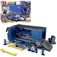 Конструктор для детей Sluban для мальчика детский Трейлер Формула M38-B0357