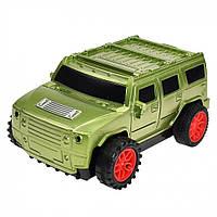 Дитяча машина CX002 їздить по нарисованой лінії (Зелений)