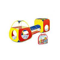 Детская палатка с тоннелем 7018B-1 272*84*90 см