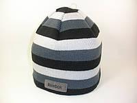 Шапка Reebok OW Stripe Bean с флисовой подкладкой Z75333 мужская