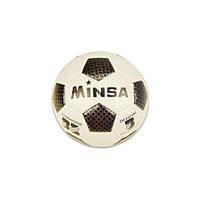 Футбольний м'яч E31266 діаметр 18,3 см (Чорний)