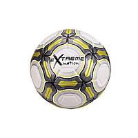 М'яч футбольний FB20152 діаметр 21,8 см (Жовтий)