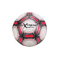 М'яч футбольний FB20152 діаметр 21,8 см (Червоний)