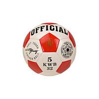 М'яч футбольний B26114 діаметр 21,8 см (Червоний)