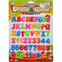 Англійські літери, цифри і знаки на магніті 8305B