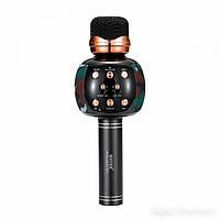Микрофон караоке M137 с колонкой (Khaki)