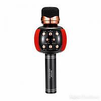 Микрофон караоке M137 с колонкой (Red)