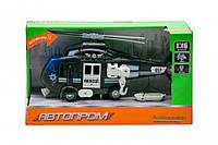 Іграшка Вертоліт 7674 зі звуковими ефектами (Чорний)