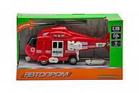 Іграшка Вертоліт 7674 зі звуковими ефектами (Червоний)