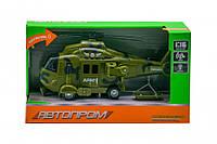 Іграшка Вертоліт 7674 зі звуковими ефектами (Зелений)