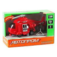Іграшка Вертоліт 7678 Міські служби (Червоний)