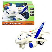 Іграшковий літак 7912AB зі звуковими ефектами (2-поверховий)