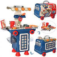 Ігровий стіл з інструментами 11K04 у валізі