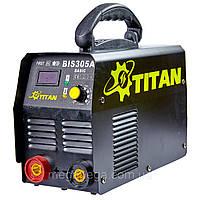 Зварювальний інвертор TITAN BIS305A BASIC